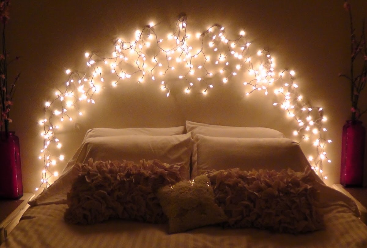 Light Up Your Life With Fairy Lights Interior Designers - How to use fairy lights in bedroom