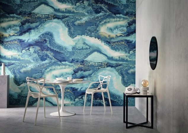Look what Christina Murphy – Top American Designer says about these Pretty Painterly Watercolour Wallpapers!