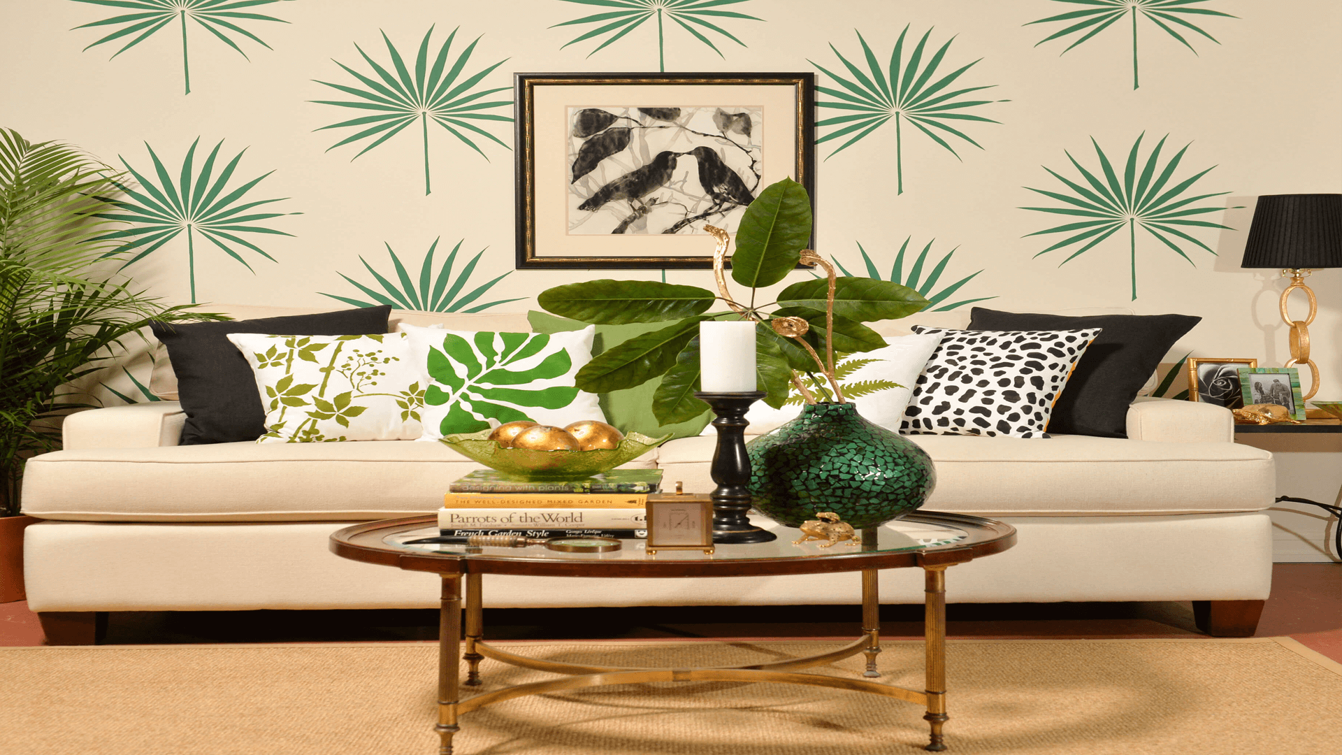 Recreate the tropical decorating trend using these tips