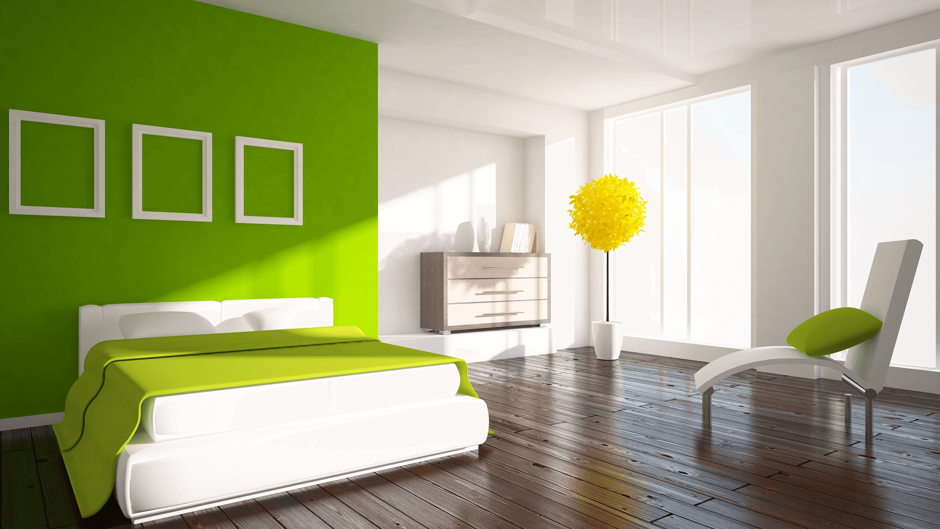 6 Awesome Green Bedroom Ideas