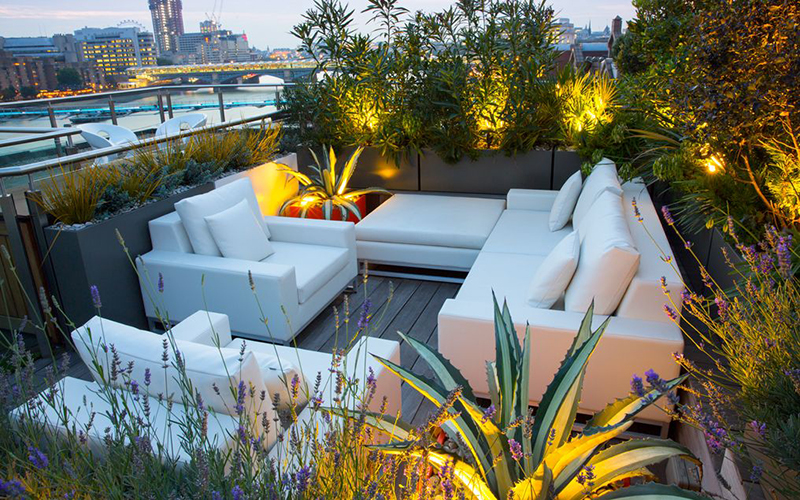 Rooftop garden ideas to make your home a better place ...