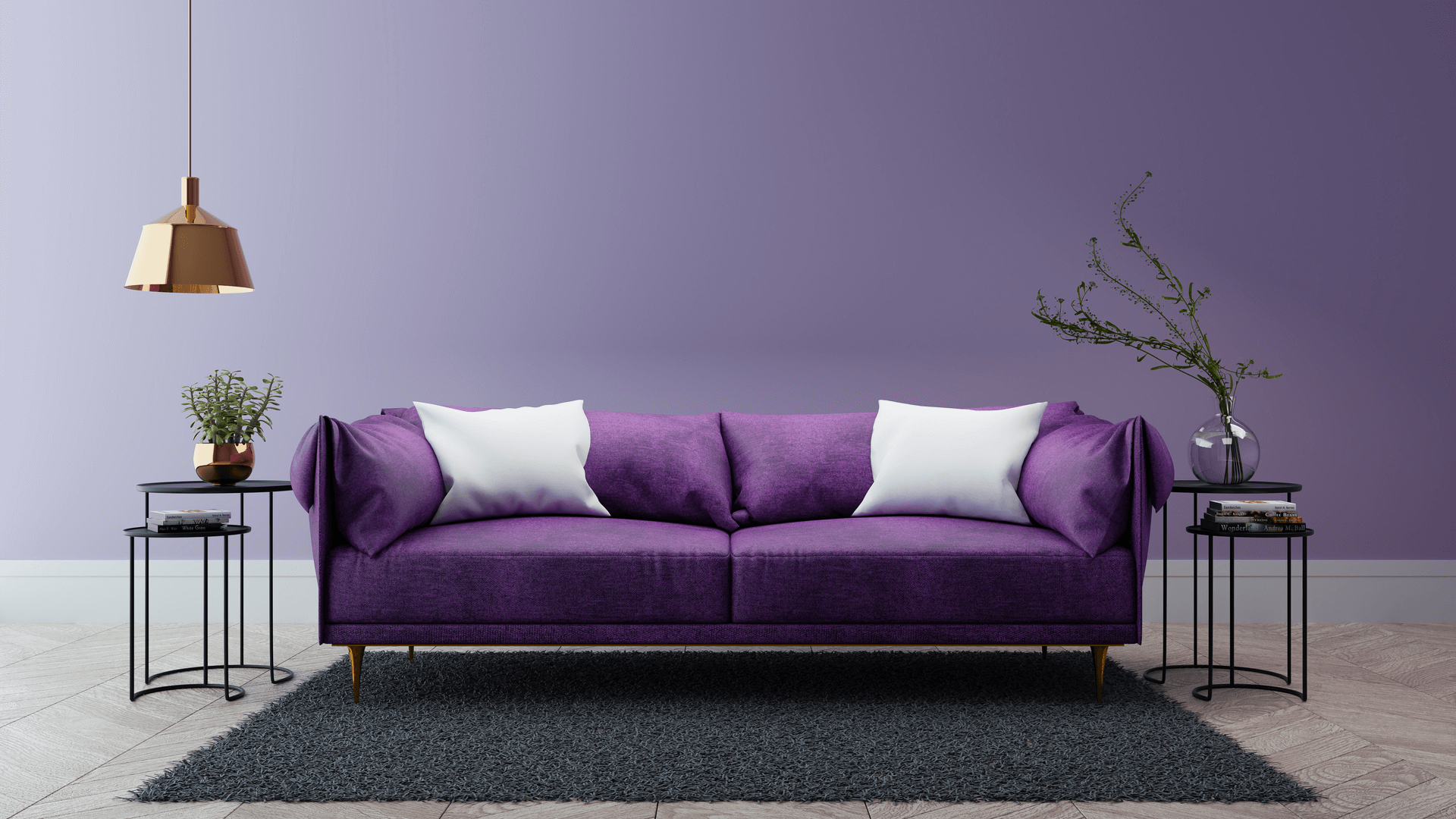 Have a look at the ultra violet color trending this 2018!