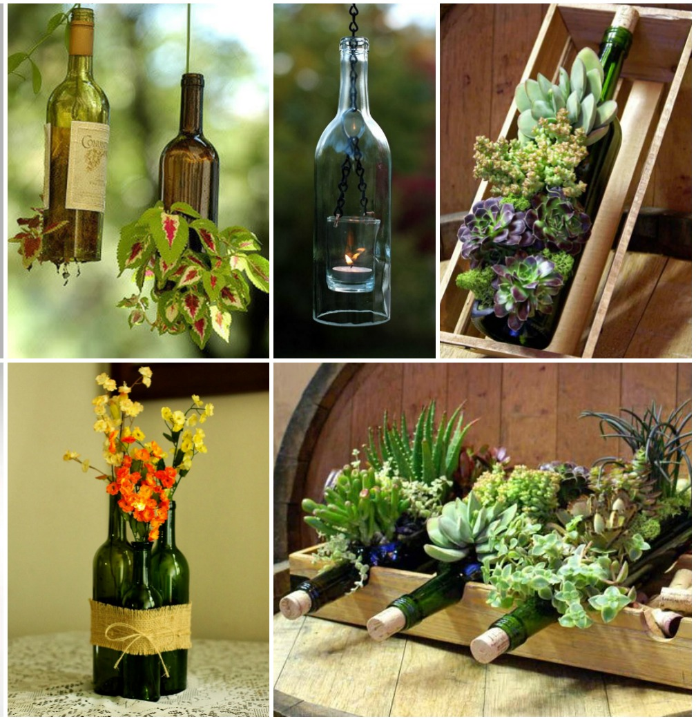 Bottles DIY Interior Decor