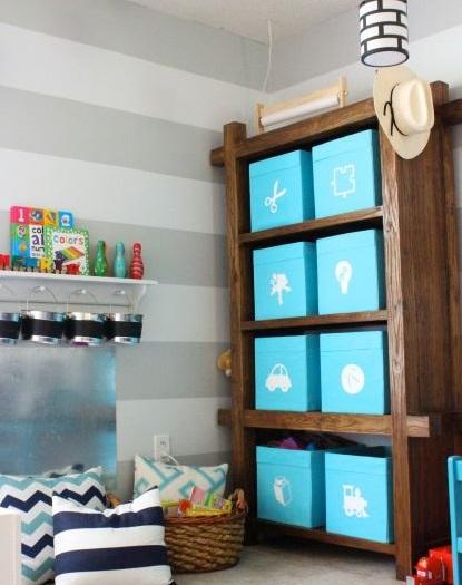 Toy Storage In Baskets