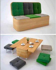 Multi-function Furniture Interiors Trends