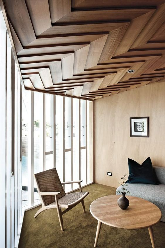 Amazing Wooden Ceiling Home Interior Trends 2019