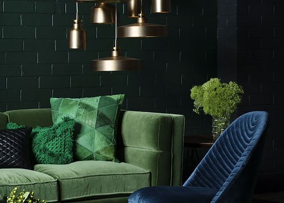 Jewel Tones Interior Design Trend 2019