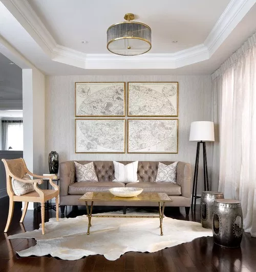 Mixed Metal Accents Home Interiors Trends 2019