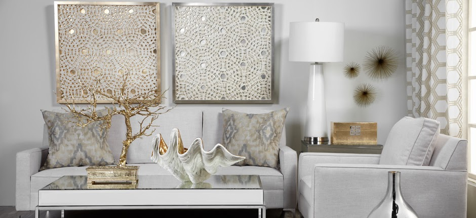 Gold Silver Metal Mixing Home Interiors Trends