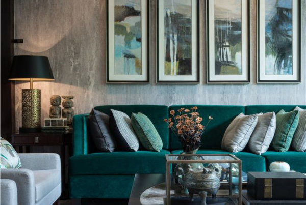 jewel tone sofas 2019