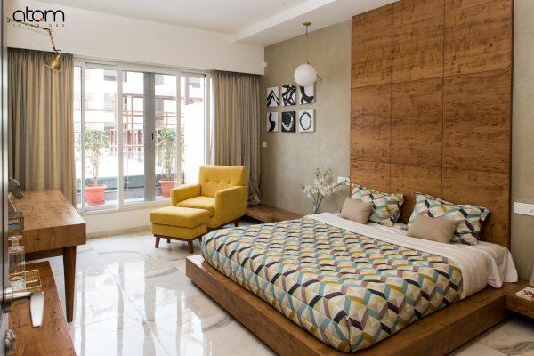 Mid-century Modern Bedroom Interiors