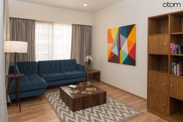 Mid-century Modern Family Room Interiors