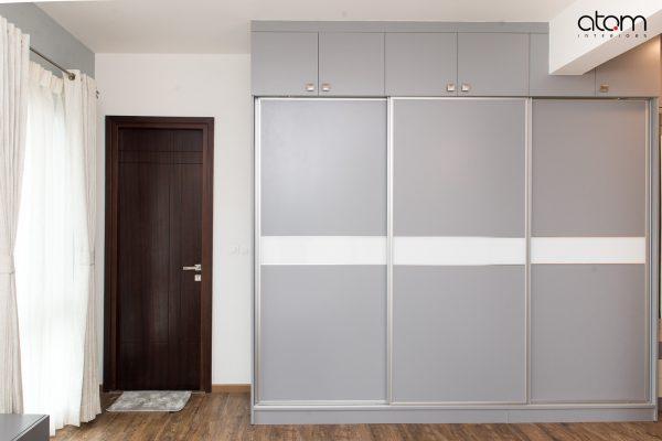 Modern 3 Door Sliding Wardrobe