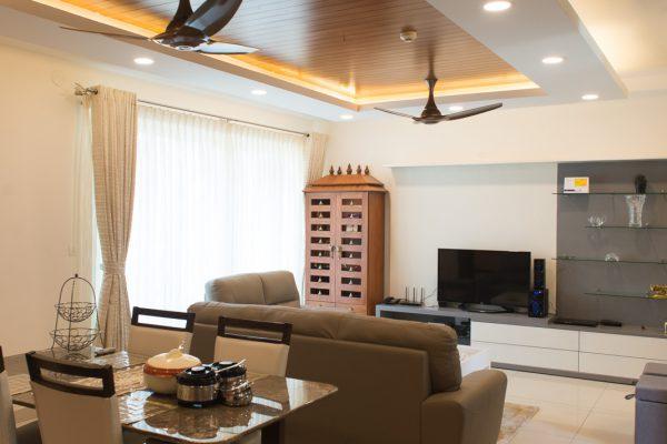 Modern-classic False Ceiling
