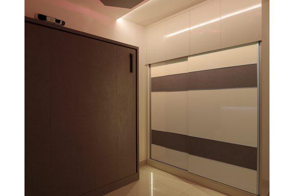 Neo Classic Sliding 2 Door Wardrobe