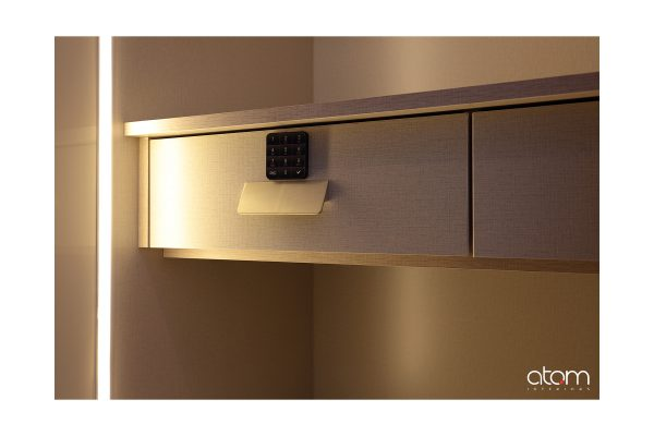 Neo Classic Wardrobe with Passcode Protection