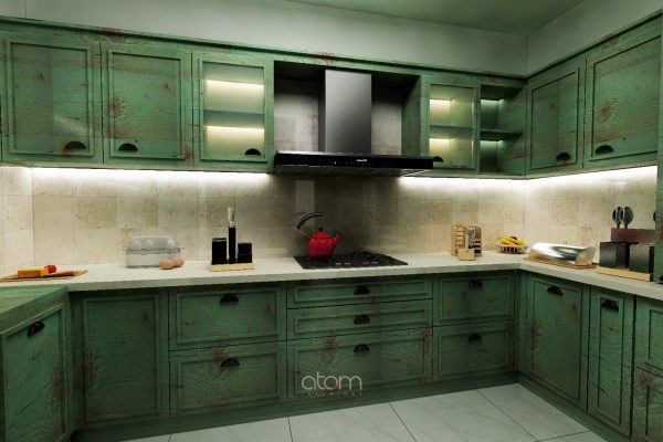 Gothic Kitchen Theme